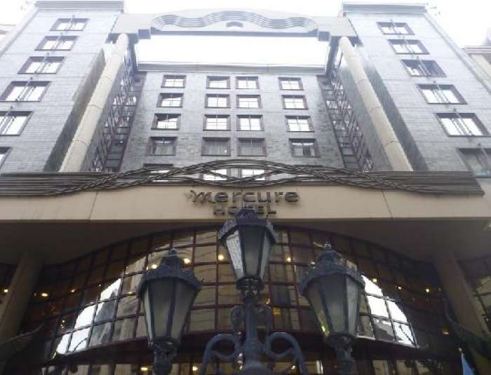 Mercure City Center fasade